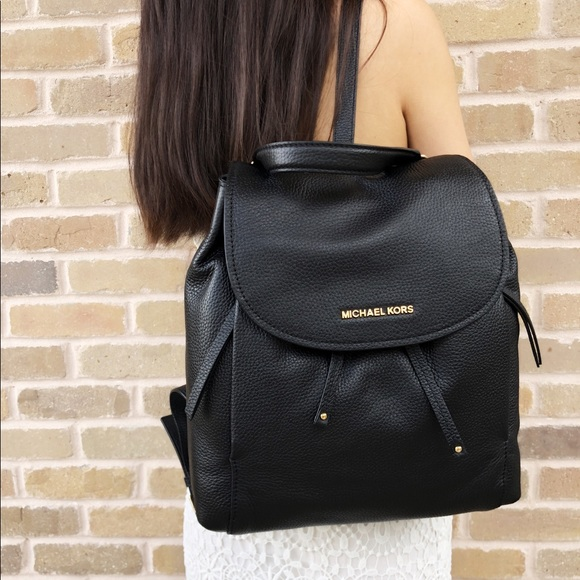 fad6854a3cb3 Michael Kors Bags | Riley Large Backpack Black | Poshmark
